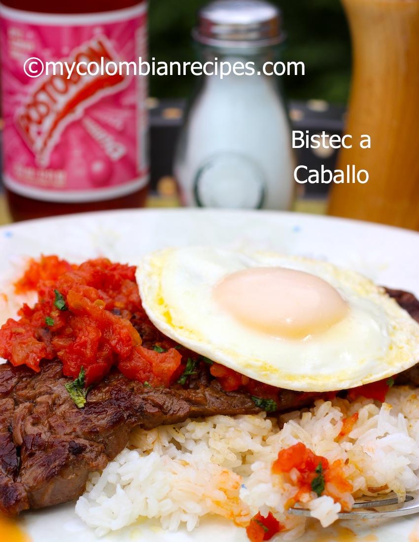 Bistec a Caballo-Colombian Recipes