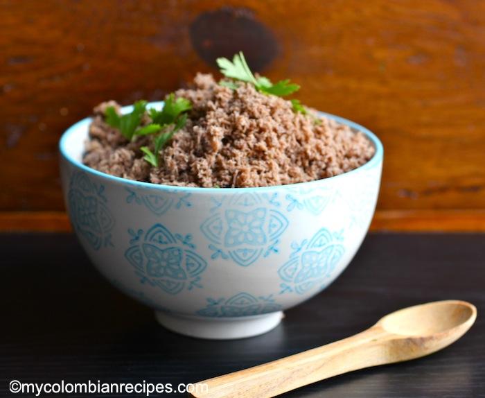 Colombian- Style Powdered Beef (Carne en Polvo)
