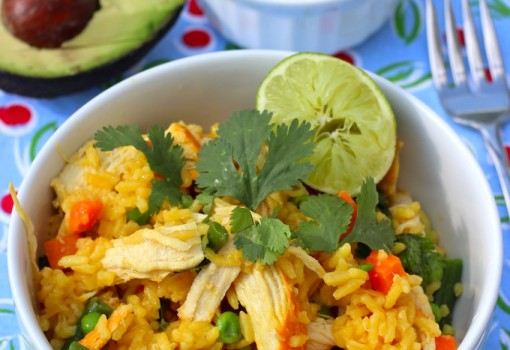 "<span class=""p-name"">Chicken and Rice (Arroz con Pollo)</span>"