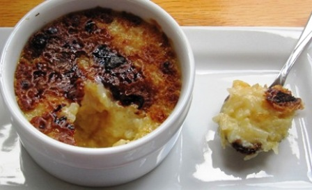 Coconut rice pudding011