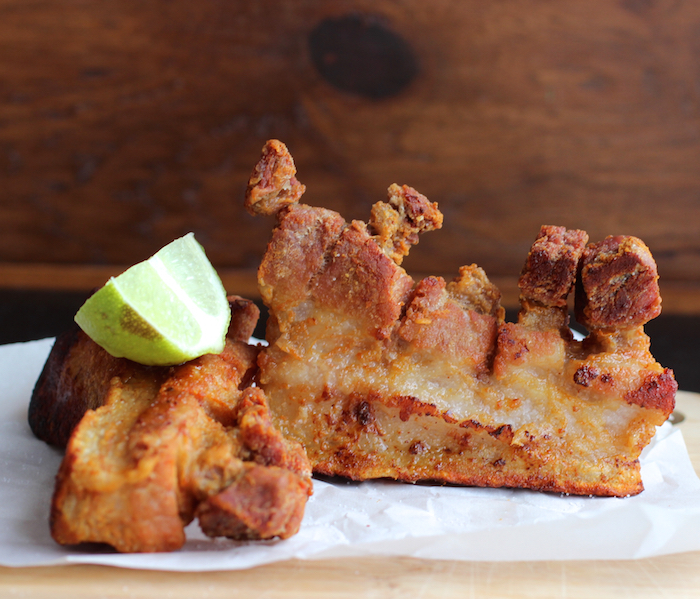 Colombian-Style Fried Pork Belly (Chicharrón Colombiano)|mycolombianrecipes.com