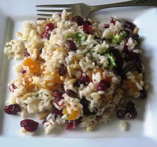 Rice salad ensalada de arroz my colombian recipes - Ensalada de arroz light ...