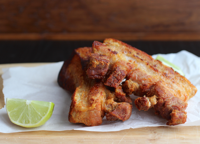 Colombian-Style Fried Pork Belly (Chicharrón Colombiano)