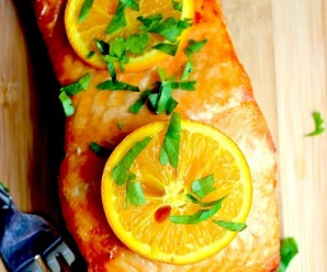 Salmon with Orange and Honey