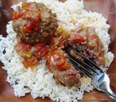 Colombian Style Meatballs