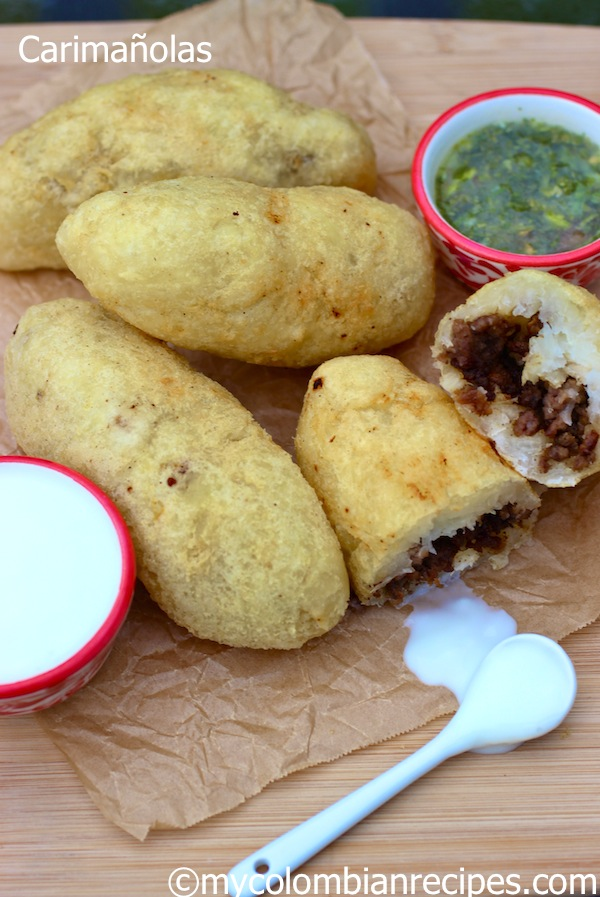 Meat and Cheese Stuffed Yuca