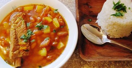 """<span class=""""p-name"""">Canary Bean Soup (Sopa de Frijoles Canarios)</span>"""