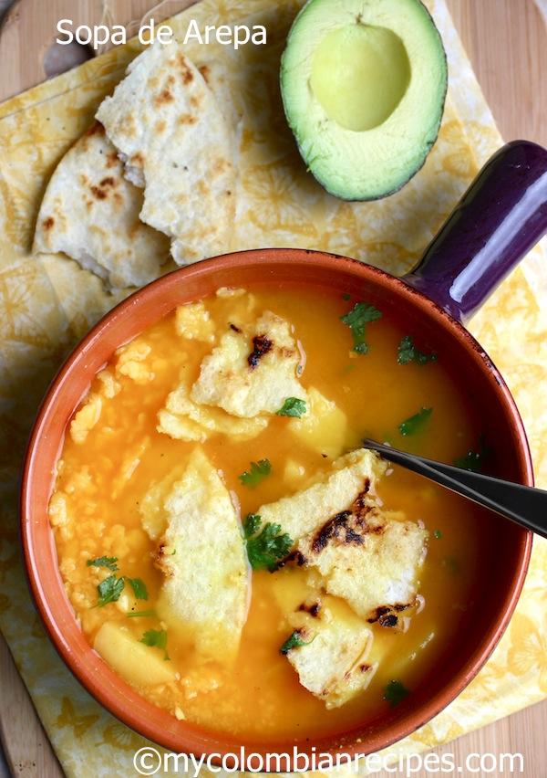 Arepa Soup1