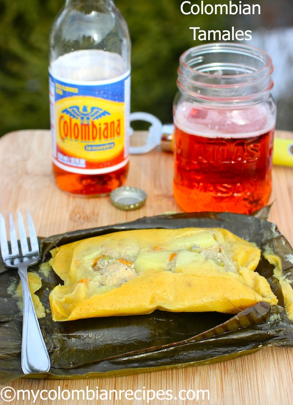 My Colombian Recipes-Tamales