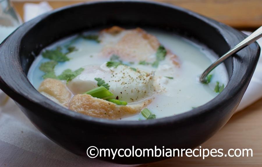 Colombian Changua- Recetas de Comida Colombiana
