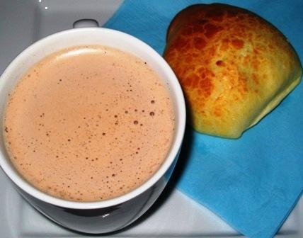 Hot Cocolate in Coconut milk