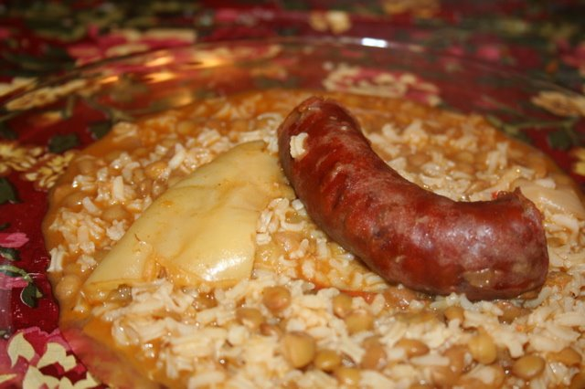 Lentejas with Chorizo