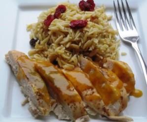 Pollo Con Salsa De Maracuya