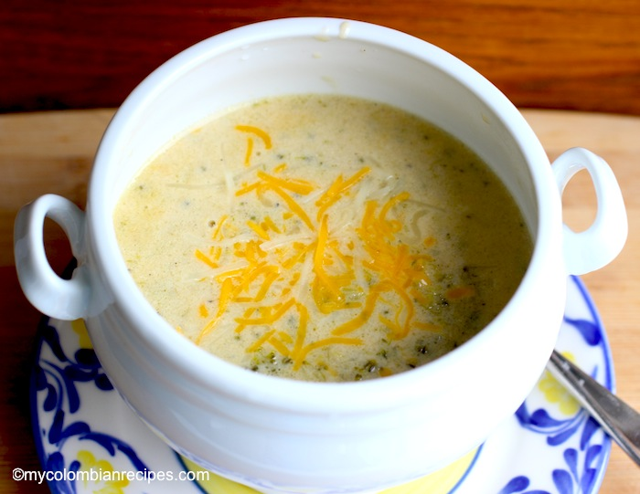 Sopa de Brocoli or Broccoli Soup