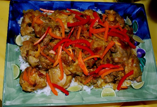 "<span class=""p-name"">Tropical Curried Chicken with Rice</span>"