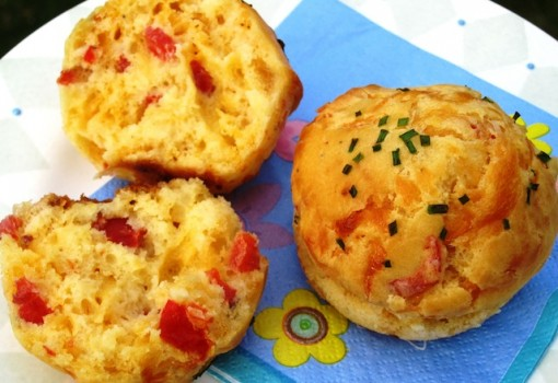 "<span class=""p-name"">Roasted Peppers and Cheddar Cupcakes</span>"