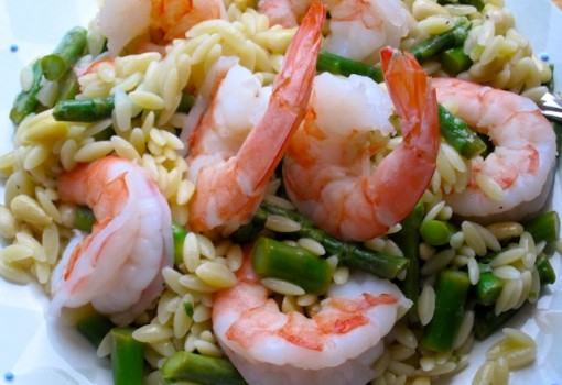 "<span class=""p-name"">Orzo, Shrimp and Asparagus Salad</span>"