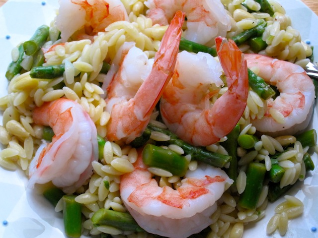 Orzo, Shrimp and Asparagus Salad – The Cookware Review