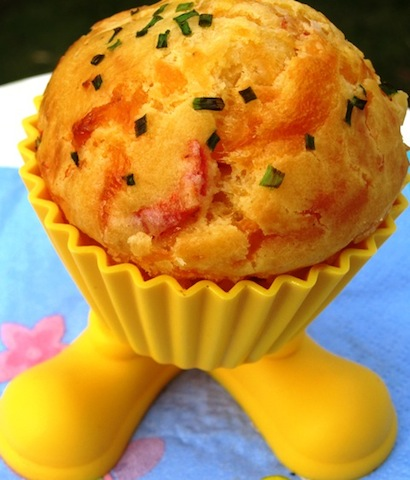 Roasted Pepper cupcakes