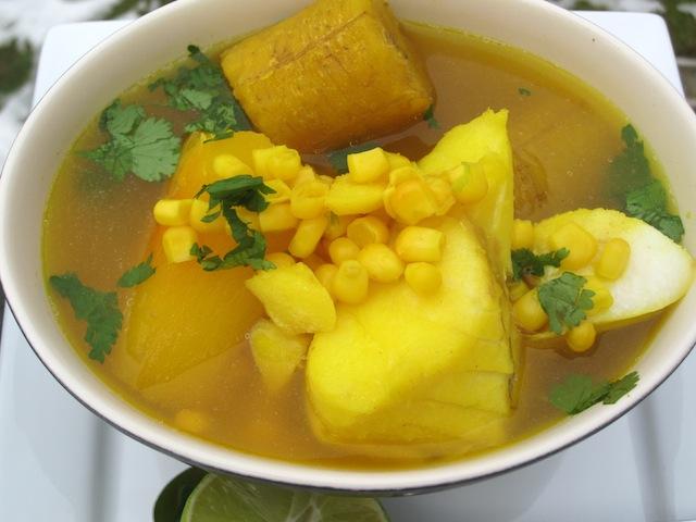 sancocho de pescado colombian fish soup my colombian