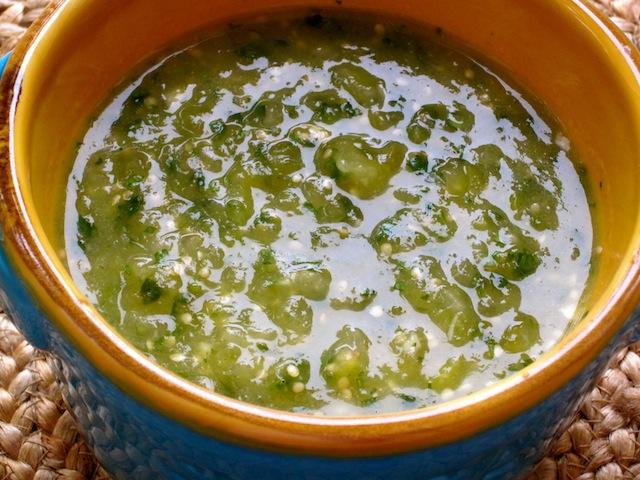 Tomatillo Salsa or Salsa Verde | My Colombian Recipes