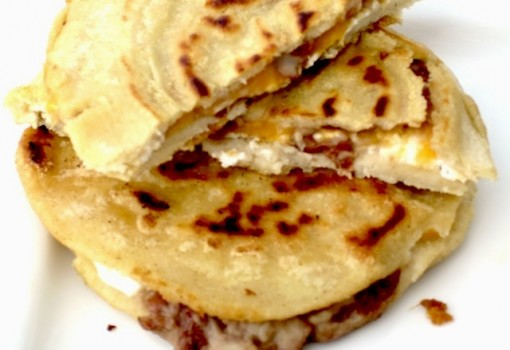 "<span class=""p-name"">Pupusas  with Curtido from El Salvador</span>"