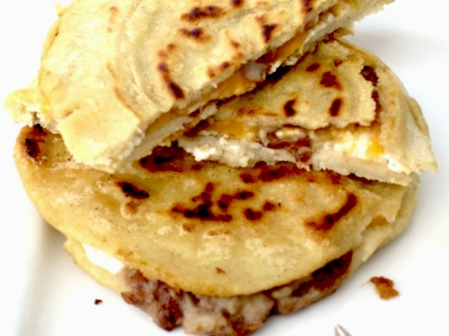 pupusas with curtido from el salvador my colombian recipes