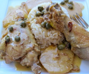 Chicken Fricase