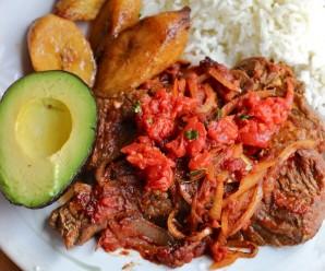 Bistec a la Criolla ( Colombian -Style Creole Steak) |mycolombianrecipes.com