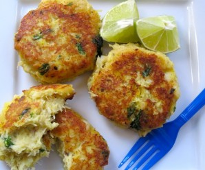 Yuca And Cod Fish Cakes