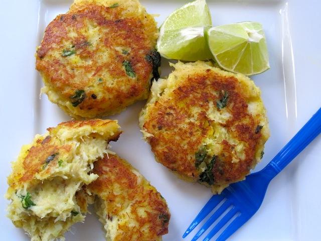 Recipe salt cod cakes