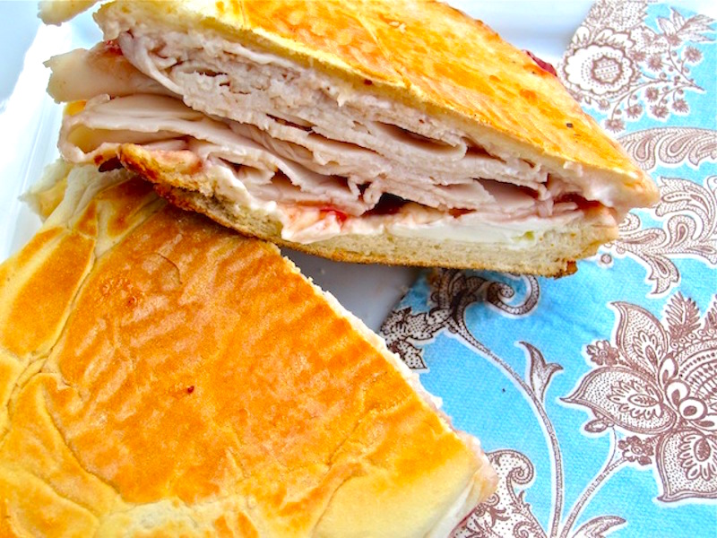 Sandwich Elena Ruz ( Cuban Turkey Sandwich)