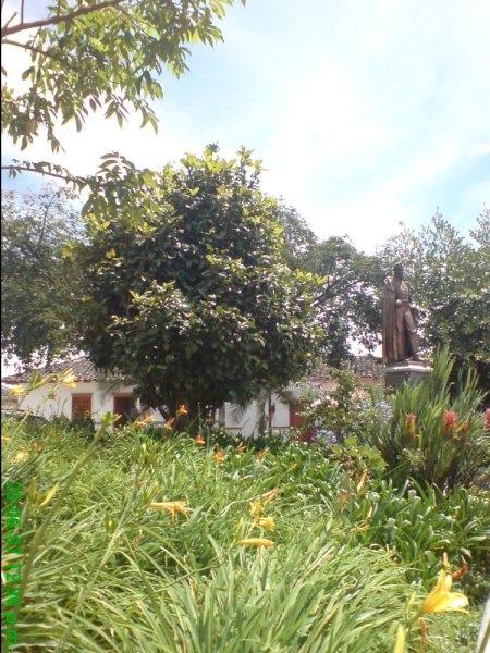 La plaza de Guatapé