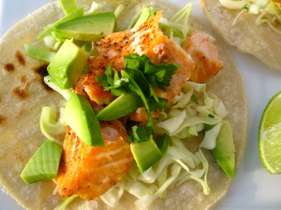 Simple Salmon Tacos