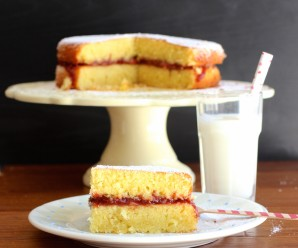 Torta Maria Luisa (Colombian Sponge Cake) |mycolombianrecipes.com