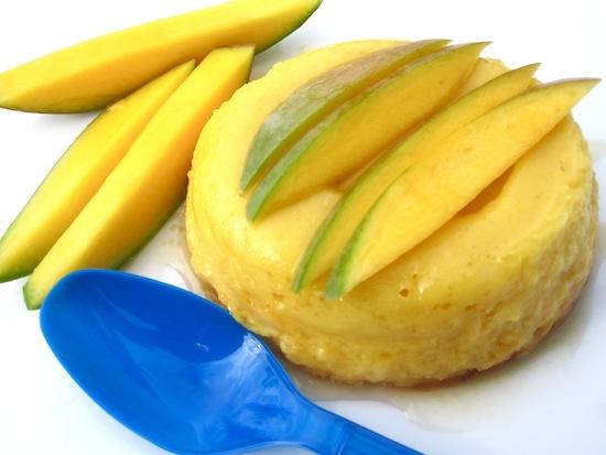 Mango Flan or Flan de Mango