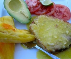 Pescado Al Ajillo (Fish in Garlic Sauce)