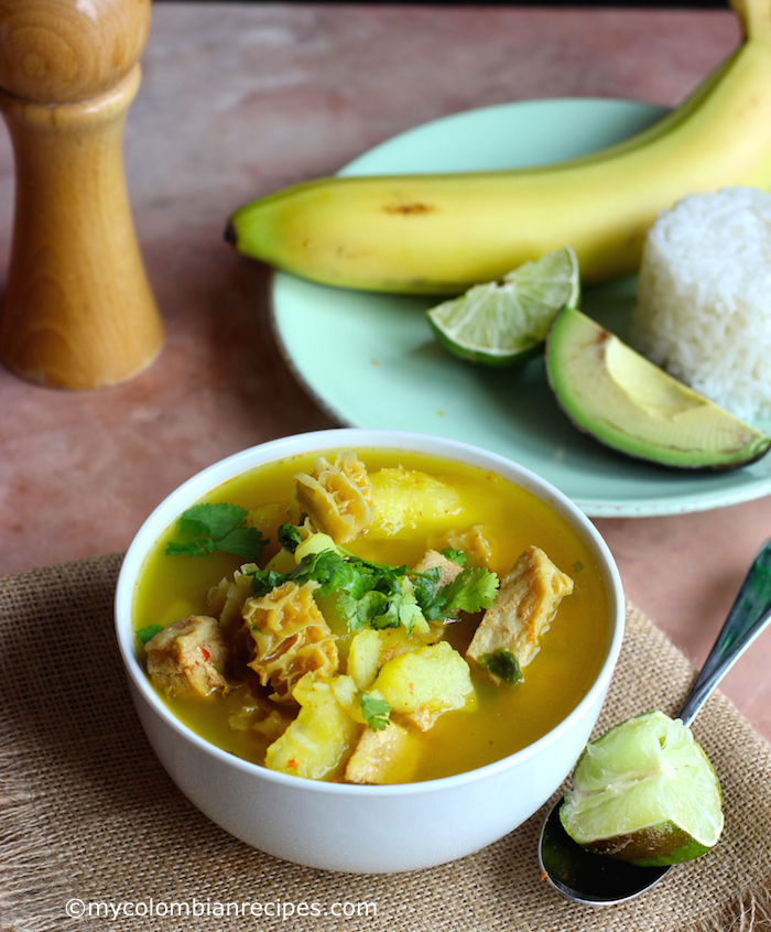 Mondongo Colombiano (Pork, Tripe and Chorizo Soup) |mycolombianrecipes.com
