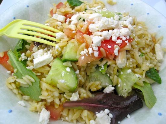Orzo-Feta Salad