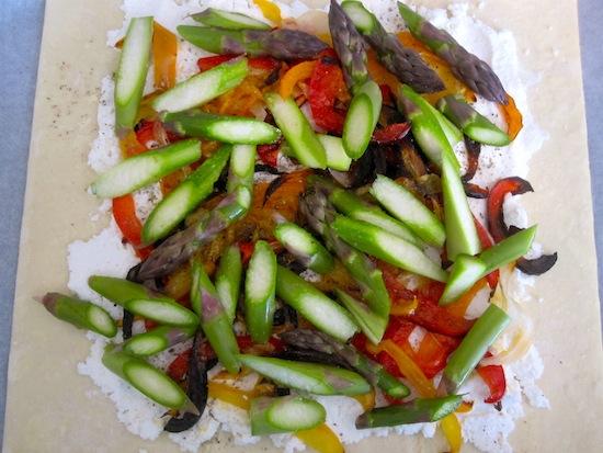 Asparagus Tart Step 2