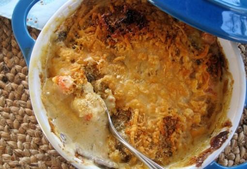 "<span class=""p-name"">Cazuela de Camarones con Champiñones (Shrimp and Mushroom Casserole)</span>"