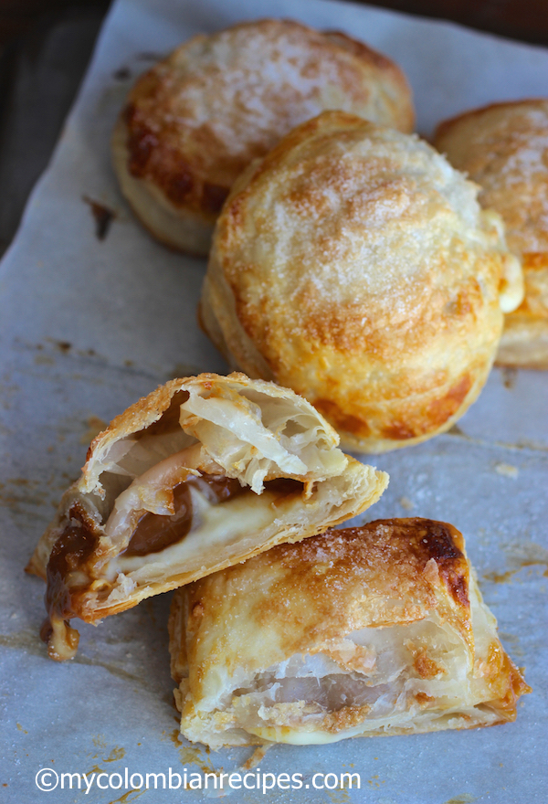 Pastel Gloria (Guava, Dulce de Leche and Cheese Pastry)