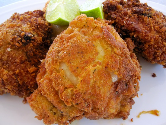 Pollo Frito con Miel y Limon