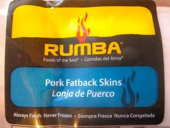 Pork skin Package