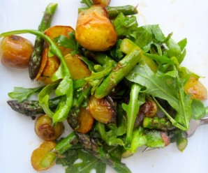 Roasted Potato and Asparagus Salad