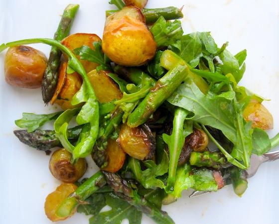 Roasted Potato and Asparagus Salad