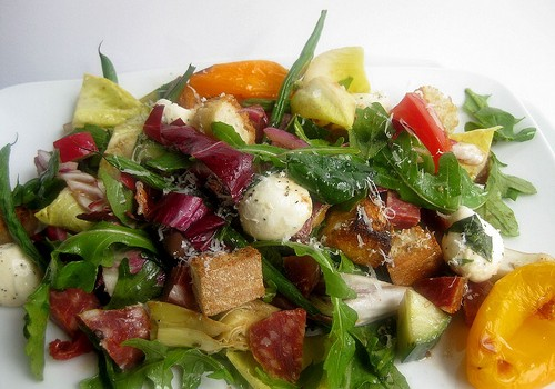 27-Ingredient Panzanella Antipasta