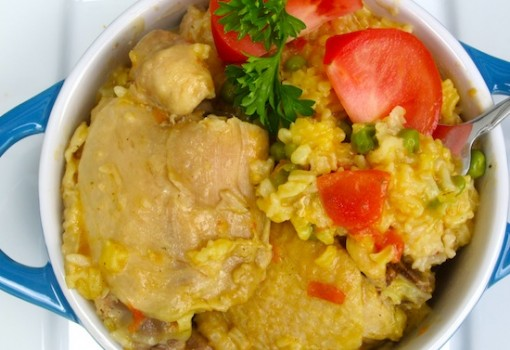 "<span class=""p-name"">Arroz Tapado (Rice with Chicken and Pork)</span>"