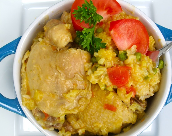 Arroz Tapado (Rice with Chicken and Pork) | My Colombian ...