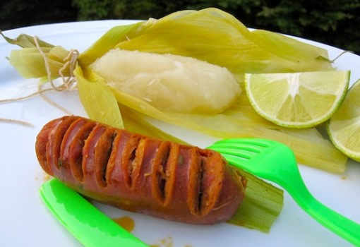 Bollo de Yuca (Yuca Wrapped) |mycolombianrecipes.com